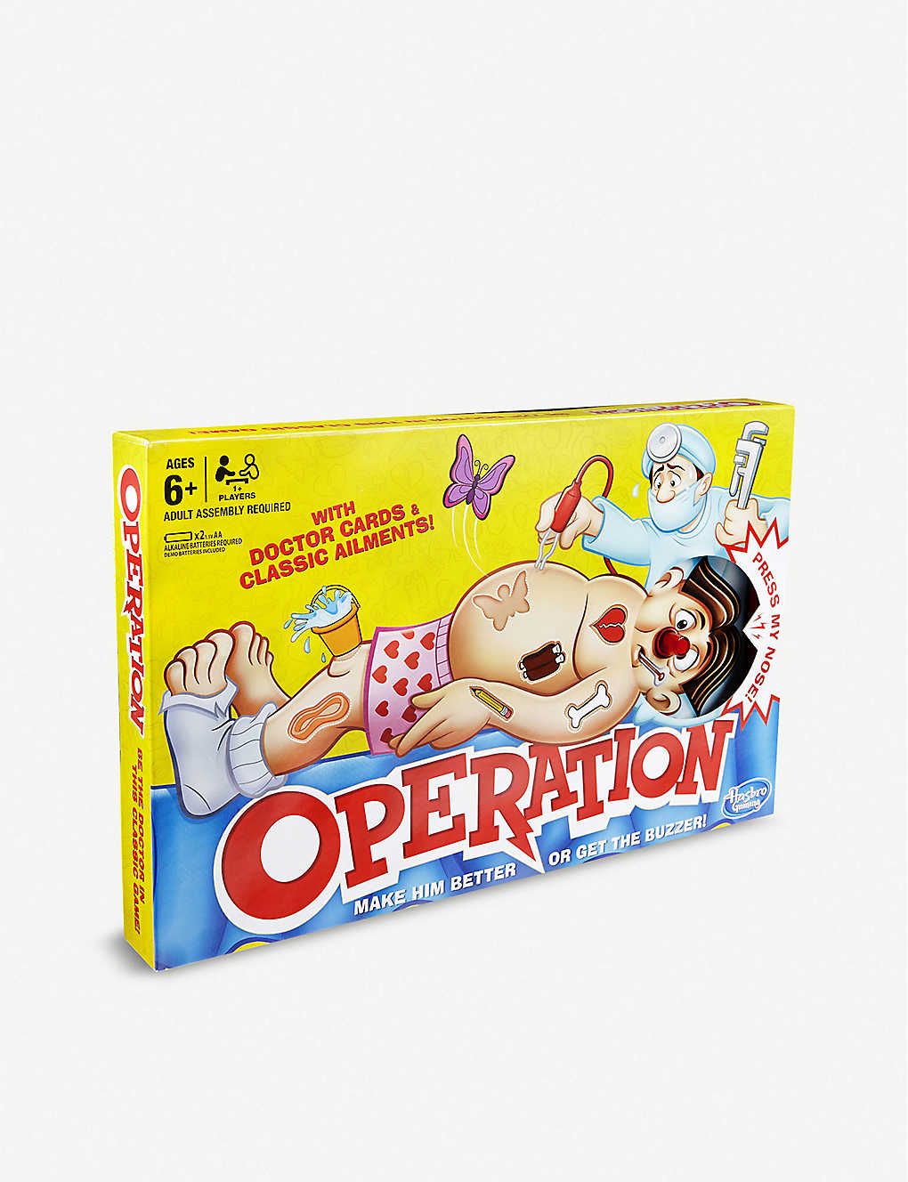 BOARD GAMES: Classic operation board game