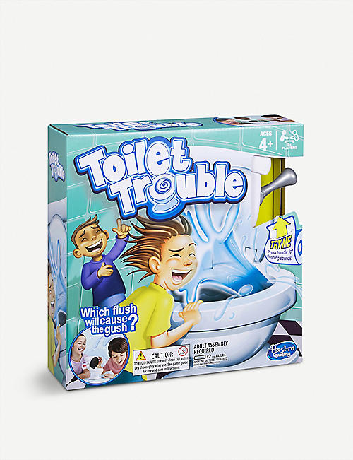 BOARD GAMES Toilet Trouble board game