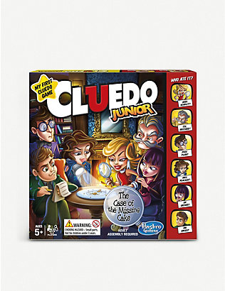 BOARD GAMES: Cluedo Junior