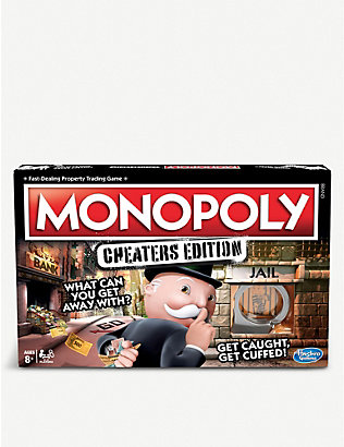 BOARD GAMES: Monopoly cheaters edition