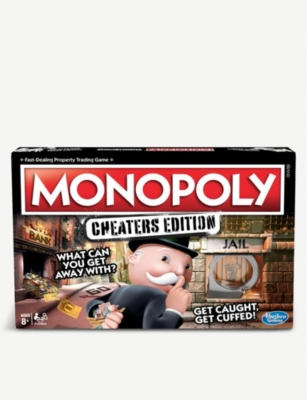 BOARD GAMES Monopoly cheaters edition