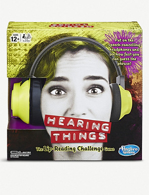BOARD GAMES Hearing Things game