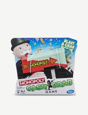 BOARD GAMES Monopoly Cash Grab game