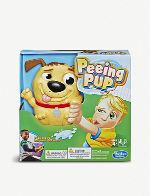 BOARD GAMES Peeing Pup game