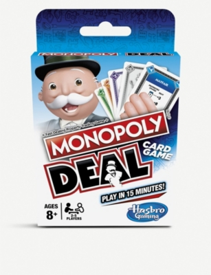 BOARD GAMES Monopoly Deal card game