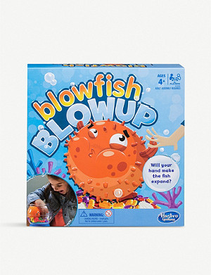 BOARD GAMES Blowfish Blowup game