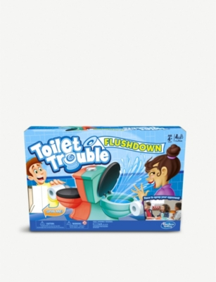 BOARD GAMES Toilet Trouble Flushdown game