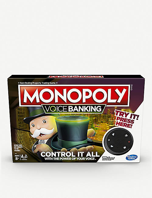 BOARD GAMES Monopoly Voice Banking edition