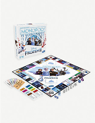 BOARD GAMES: Monopoly Game: Disney Frozen 2 Edition Board Game