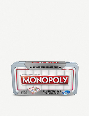 BOARD GAMES Road Trip Monopoly board game 8+