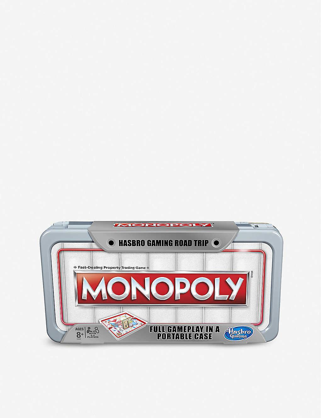 BOARD GAMES - Road Trip Monopoly board game 8+   Selfridges com