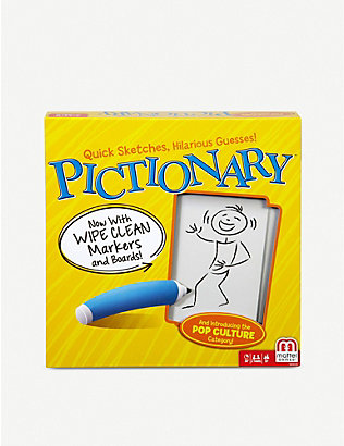 BOARD GAMES:Pictionary 棋盘游戏