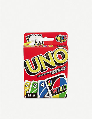 BOARD GAMES: Uno card game