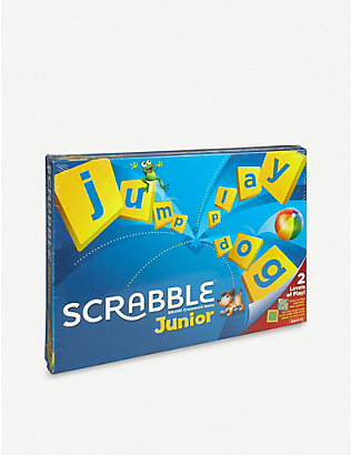 BOARD GAMES: Scrabble Junior board game