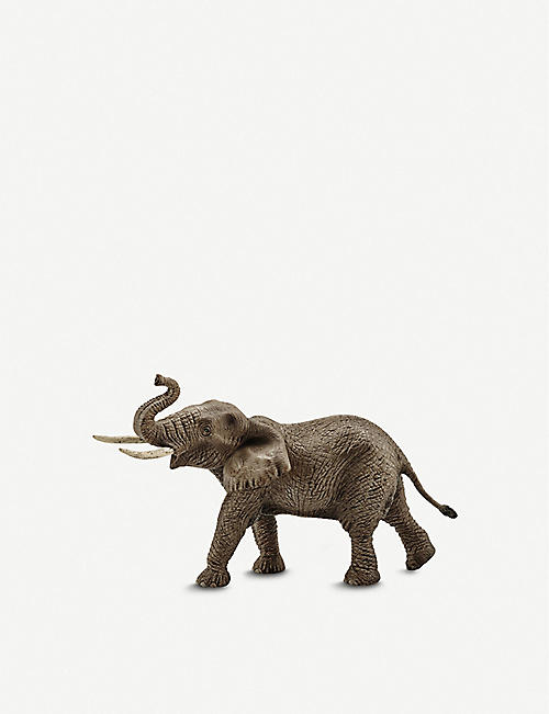 SCHLEICH: African elephant male toy figure 19.5cm