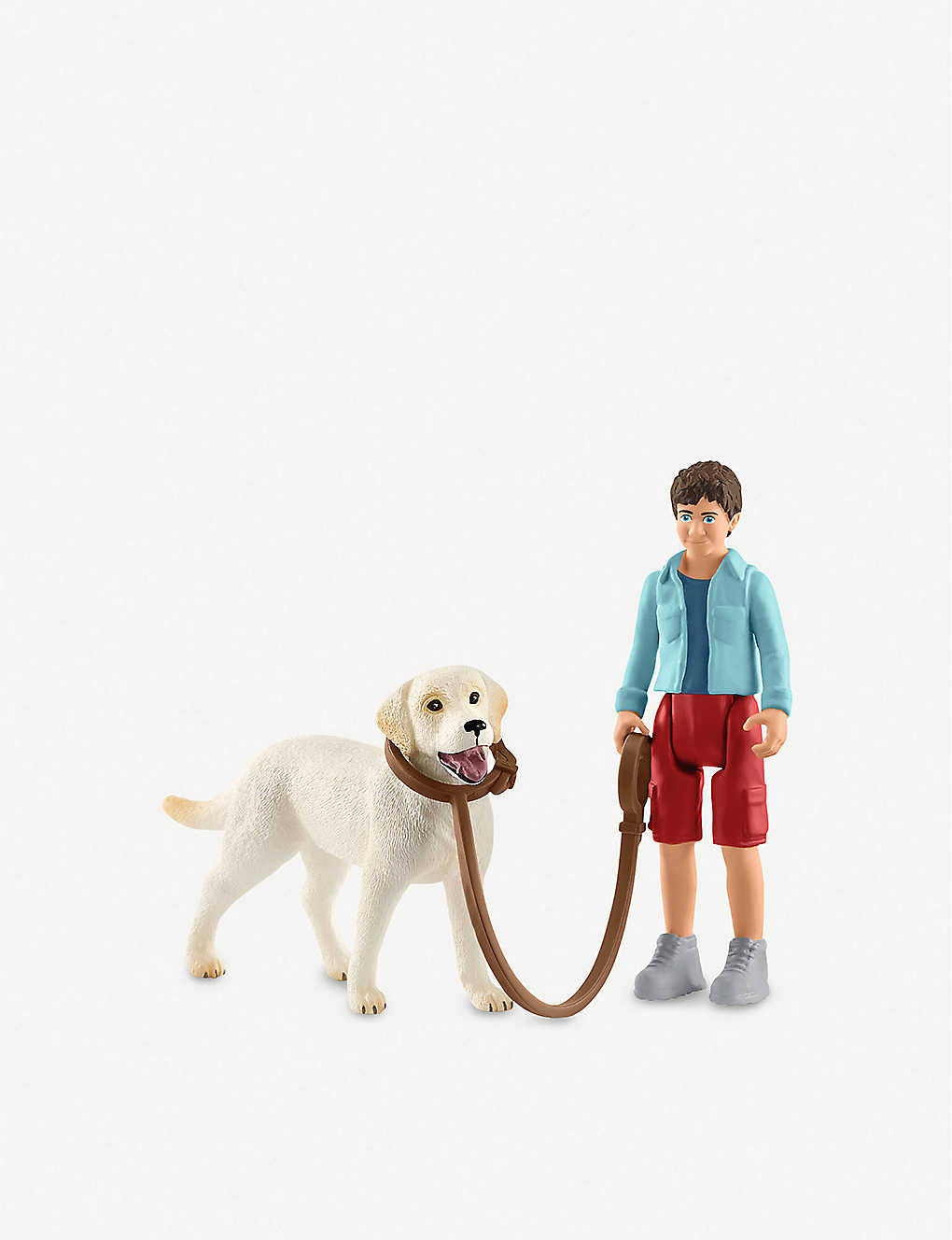 SCHLEICH: Labrador Retriever toy play set