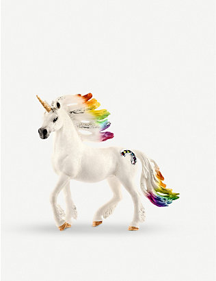 SCHLEICH: Balaya Rainbow Unicorn stallion toy