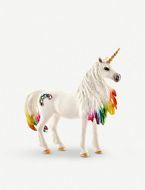 SCHLEICH Balaya Rainbow Unicorn mare toy