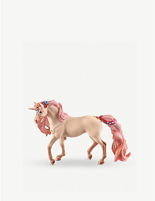 SCHLEICH: Bayala Decorated Unicorn mare toy