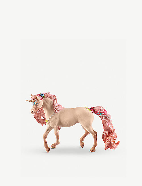 SCHLEICH Bayala Decorated Unicorn mare toy