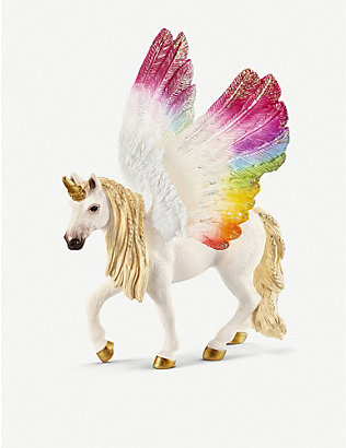 SCHLEICH: Balaya Winged Rainbow Unicorn foal toy
