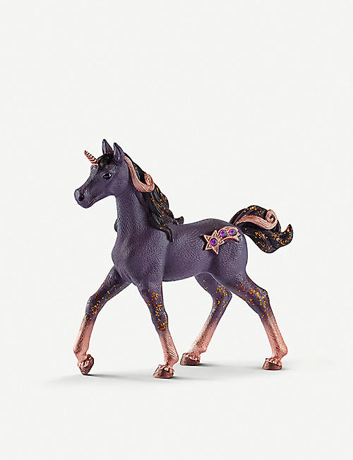 SCHLEICH: Bay Shooting-Star Unicorn Foal toy 5cm