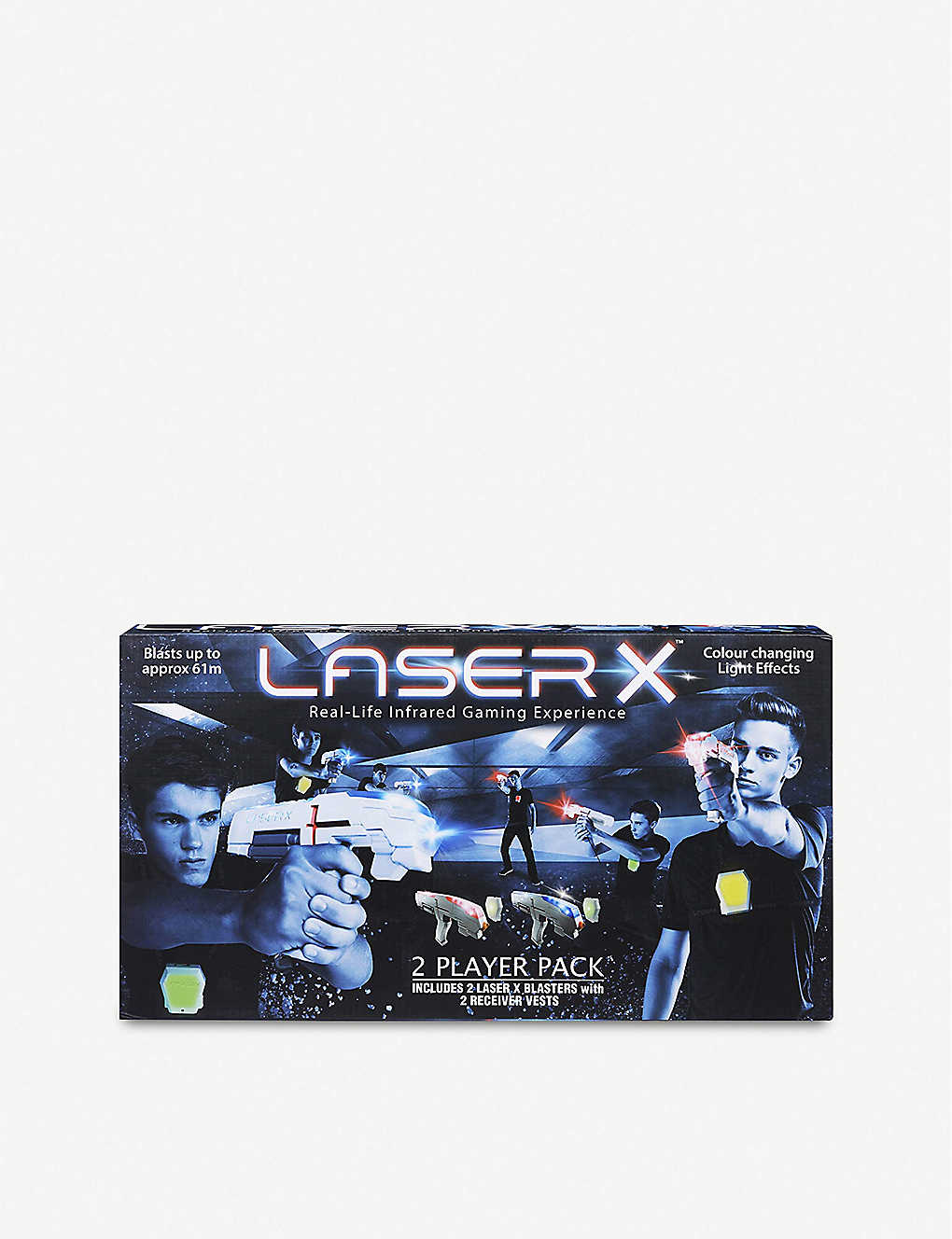 BOARD GAMES: Laser X two player pack