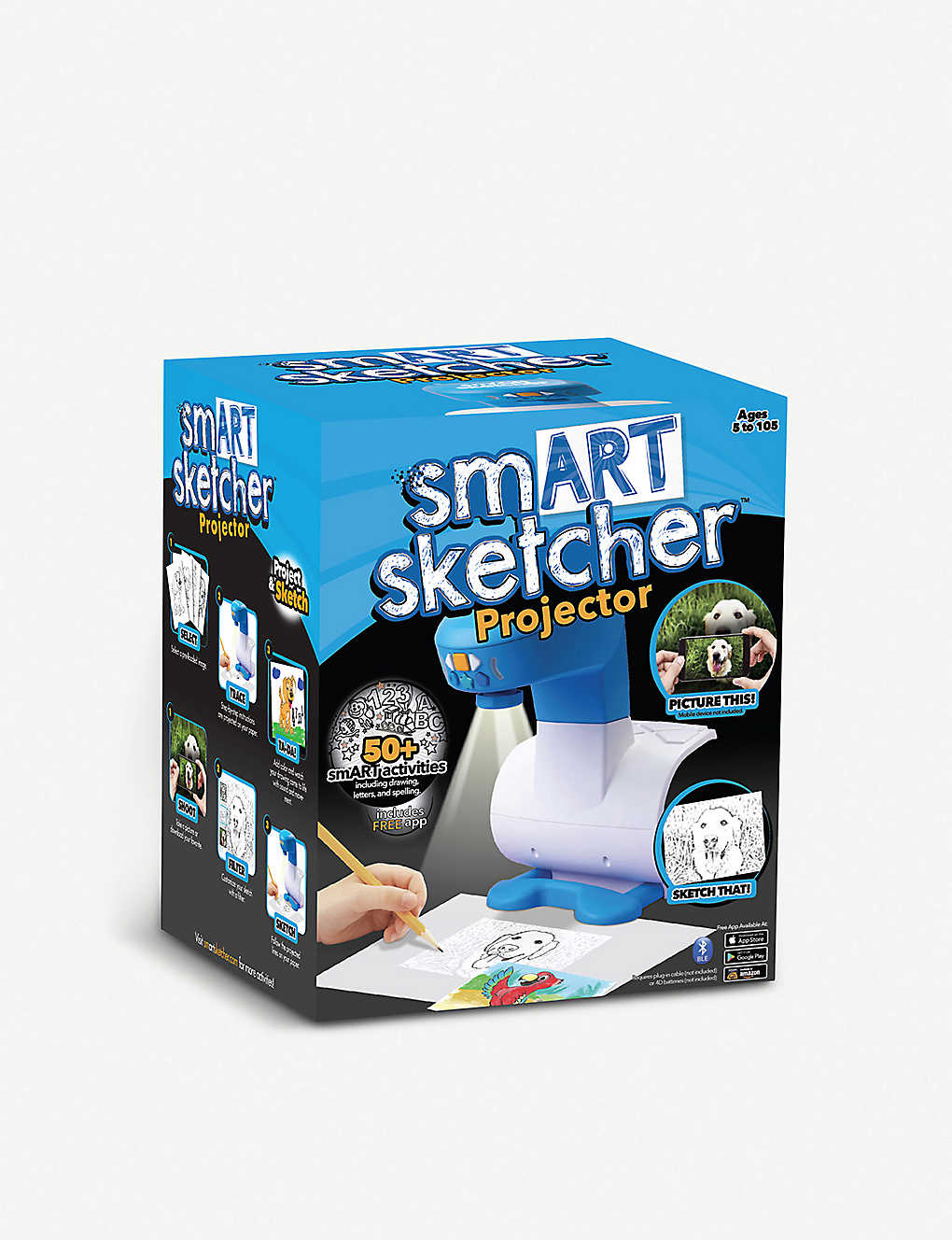 BOARD GAMES: smArt Sketcher Projector