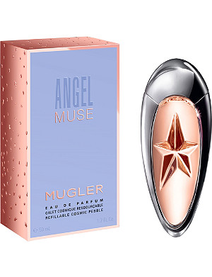 MUGLER Angel Muse refillable cosmetics pebble eau de parfum