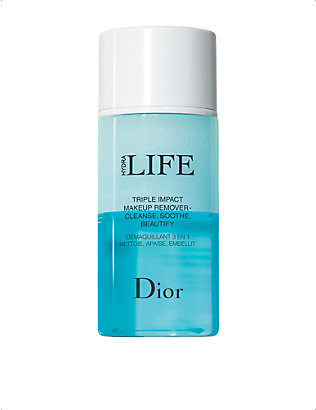DIOR: Hydra Life Triple Impact Makeup Remover Cleanse, Soothe, Beautify 125ml