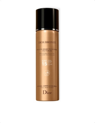 DIOR Dior Bronze Beautifying Protective Oil in Mist Sublime Glow SPF 15 125ml