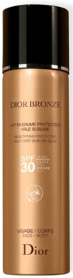 DIOR Dior Bronze Beautifying Protective Milky Mist Sublime Glow SPF 30 125ml