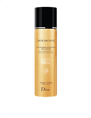 DIOR: Beautifying Protective Milky Mist Sublime Glow SPF 50 125ml