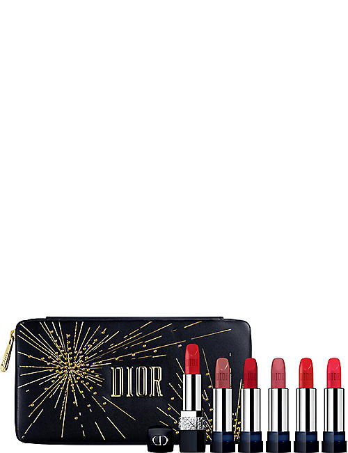 DIOR Rouge Dior Couture Refillable Jewel Lipstick edition gift set 60g