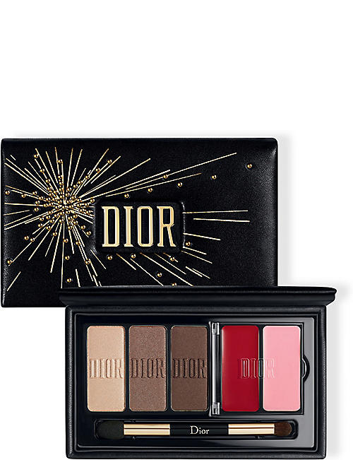 DIOR Sparkling Couture Palette - Satin Eyes & Lips Essentials