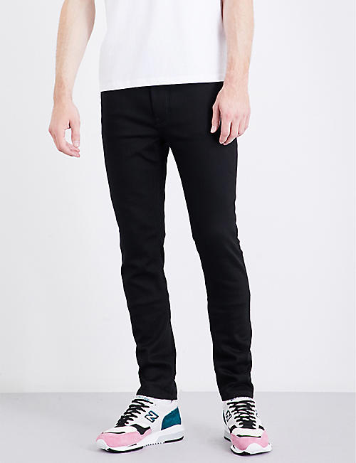 NUDIE JEANS: Lean Dean slim-fit tapered jeans