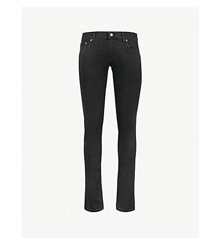 b5c69a560038b NUDIE JEANS Tight Terry tight-fit skinny jeans (Black+dirt