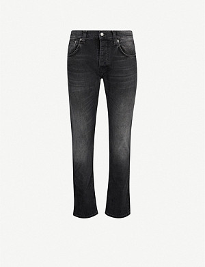 NUDIE JEANS Grim Tim slim-fit straight jeans