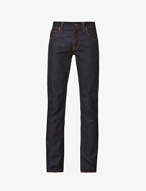 NUDIE JEANS Grim Tim straight jeans