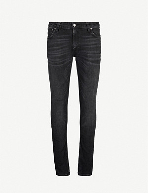 NUDIE JEANS Skinny Lin faded slim jeans