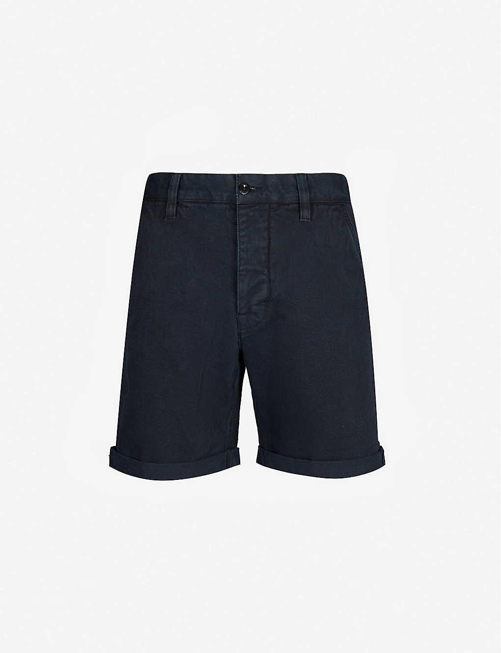 Hem Nudie Denim Turn Luke Up Jeans Shorts rQdhstC
