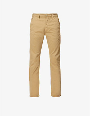 NUDIE JEANS: Slim Adam slim-fit tapered stretch organic-cotton trousers