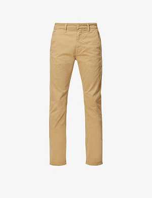 NUDIE JEANS Slim Adam slim-fit tapered stretch organic-cotton trousers