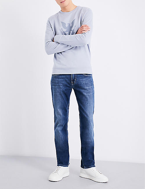 7 FOR ALL MANKIND The Straight regular-fit straight jeans