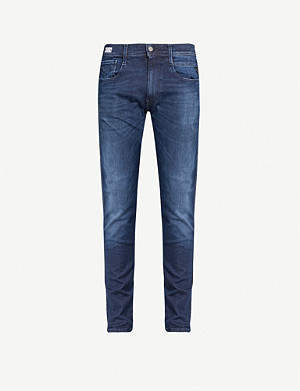 REPLAY Anbass hyperflex slim-fit jeans