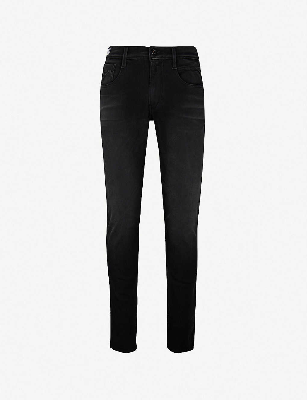 2450abdc195 REPLAY - Anbass hyperflex slim-fit skinny jeans | Selfridges.com