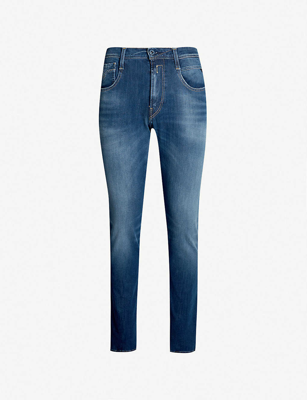 e90c27e12c1 REPLAY - Hyperflex Plus stretch-denim jeans | Selfridges.com