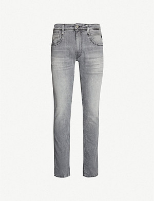 REPLAY Anbass slim-fit Hyperflex skinny jeans