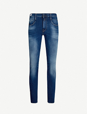 REPLAY Anbass Hyperflex Plus stretch-denim jeans