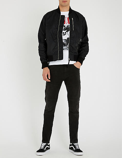 REPLAY Panelled slim-fit skinny jeans